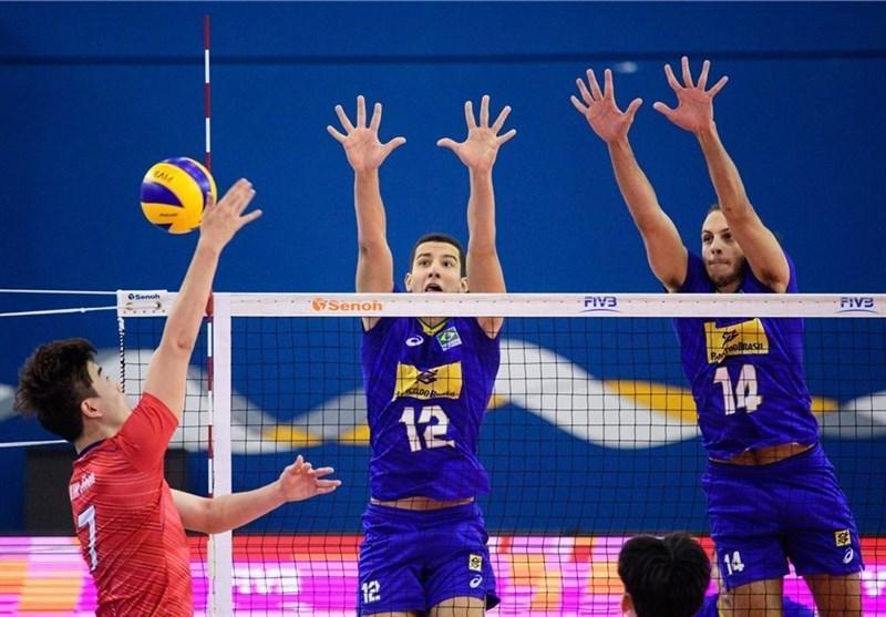 والیبال جوانان دنیا، روسیه، برزیل و ایتالیا به نیمه نهایی رسیدند، ایران یک ست برای صعود می خواهد