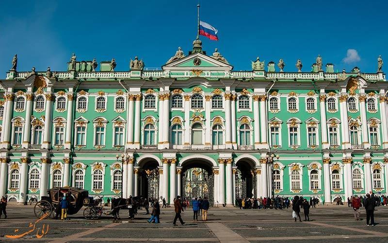 موزه هرمیتاژ، بزرگ ترین موزه دنیا در روسیه