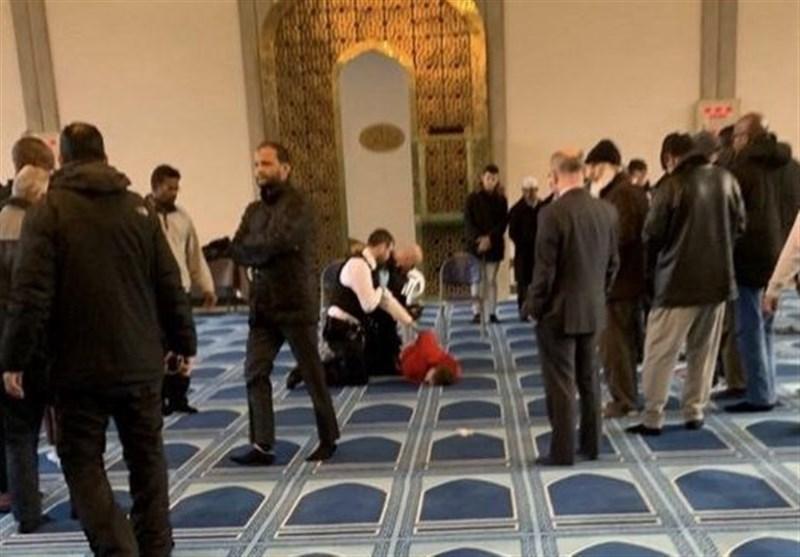 حمله به نمازگزاران مسجدی در لندن یک زخمی بر جای گذاشت