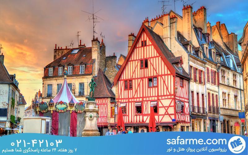 شهر دیژون فرانسه را می شناسید؟