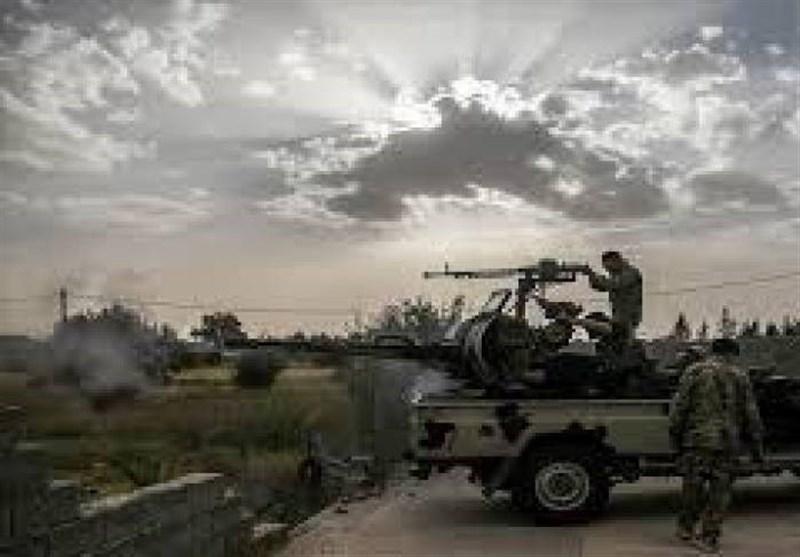لیبی، زمین گیر شدن نیروهای حفتر در ترهونه