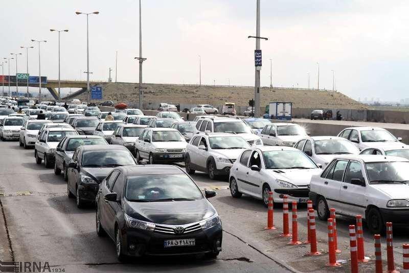 خبرنگاران ترافیک در جاده های استان سمنان به سمت شمال و مشهد پرحجم است