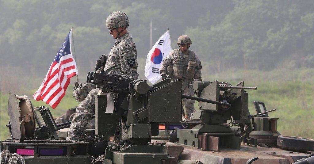 لغو رزمایش نظامی مشترک آمریکا و کره جنوبی