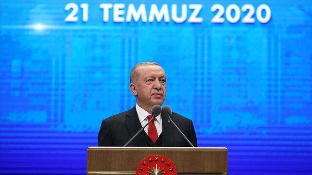 اردوغان: به لطف سیستم ریاست جمهوری توانستیم به بحران ها پاسخ فوری دهیم