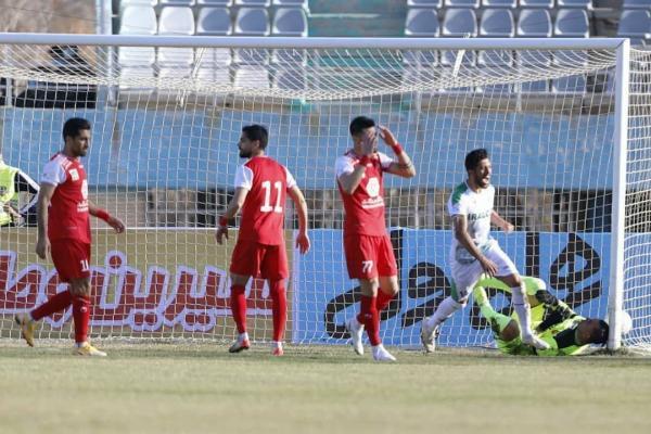 هفته دوازدهم لیگ برتر، ناکامی گل محمدی در برخورد با سد آلومینیومی