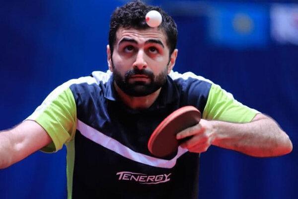 نوشاد عالمیان در رنکینگ جهانی تنیس روی میز صعود کرد